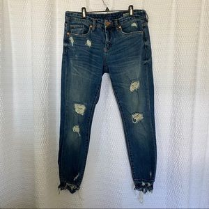 Blank NYC The Ludlow Crop Girlfriend Jean